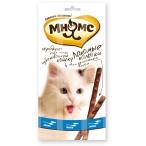 Мнямс лакомые палочки 13,5 см для кошек с лососем и форелью 3х5 г