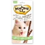 Мнямс лакомые палочки 13,5 см для кошек с уткой и кроликом 3х5 г