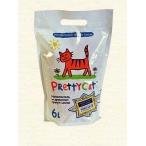 """PrettyCat наполнитель древесный для кошачьих туалетов """"Wood Granules"""" 6 л"""