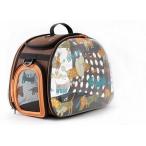 Ibbiyaya складная сумка-переноска для собак и кошек до 6 кг прозрачная дизайн собачки