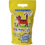 """PrettyCat наполнитель комкующийся для кошачьих туалетов """"Супер белый"""" с ароматом ванили 2 кг"""