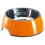 SuperDesign миска на меламиновой подставке оранжевая 0,16 л
