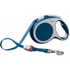 Flexi рулетка VARIO L (до 50 кг) 8 м лента синяя