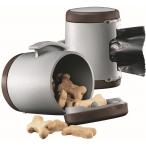 Flexi VARIO аксессуар Multi box S-M/L (бокс для лакомств/пакетиков д/сбора фекалий) коричневый