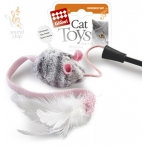 GiGwi игрушка для кошек Дразнилка на стеке с музыкальным чипом