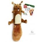 GiGwi игрушка для собак Белка с большой пищалкой 32 см