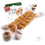 GiGwi игрушка для собак Обезьяна с 19-ю пищалками 34 см
