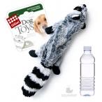 GiGwi игрушка для собак Шкурка енота с пластиковой бутылкой 52 см