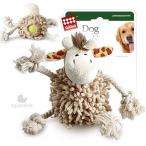 GiGwi игрушка для собак Жираф с теннисным мячом внутри тела 20 см