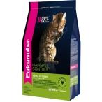 Корм Eukanuba EUK Cat корм хэйр болл с домашней птицей для домашних кошек, 400 г