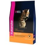 Корм Eukanuba EUK Cat корм с домашней птицей для взрослых кошек, 10 кг