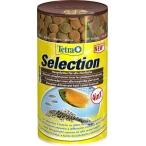 Tetra Selection корм для всех видов рыб 4 вида хлопья/чипсы/гранулы, 100 мл