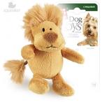 GiGwi игрушка для собак Лев 10 см с пищалкой