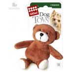 GiGwi игрушка для собак мишка 10 см с пищалкой