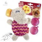 GiGwi игрушка для собак Игрушка для собак Слон 13 см с пищалкой