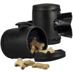 flexi аксессуар Multi box S-М/L (бокс для лакомств/пакетиков д/сбора фекалий) черный