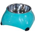 SuperDesign миска меламиновая для собак высокая 160 мл аквамарин