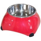 SuperDesign миска меламиновая для собак высокая 160 мл малиновая new