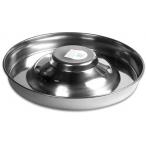 ShowTech миска металлическая для щенков 37 см
