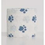 "Andover PetFlex бандаж 5 см х 4,5 м ""голубые лапы"" на белом"
