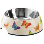 Hunter Smart миска для собак меламиновая 350 мл бабочки