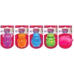 Kong игрушка для собак Сквиз Джелс средняя в ассортименте (медведь, бегемот, слон, свинка, лягушка)