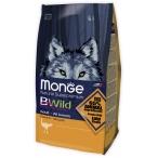 Корм Monge Bwild Dog Osrich корм для взрослых собак всех пород с мясом страуса, 2 кг