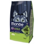 Корм Monge Bwild Dog Boar корм для взрослых собак всех пород с мясом дикого кабана, 2 кг
