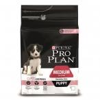 Корм Purina Pro Plan для щенков с чувств. кожей с лососем и рисом Puppy Medium Sensitive, 1.5 кг