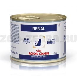 Корм Royal Canin Renal feline canned, 195 г