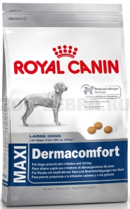 Корм Royal Canin Maxi Dermacomfort, 14 кг