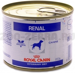 Корм Royal Canin Renal Canine canned, 0,2 кг