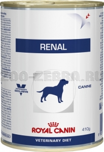 Корм Royal Canin Renal Canine canned, 0,41 кг