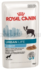 Корм Royal Canin Urban Life Junior (в соусе), 0,15 кг